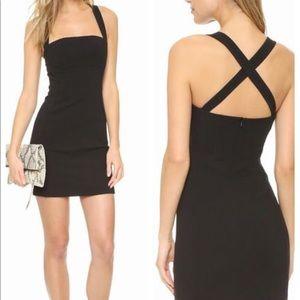 Black Halo Bryson Sheath Black Dress